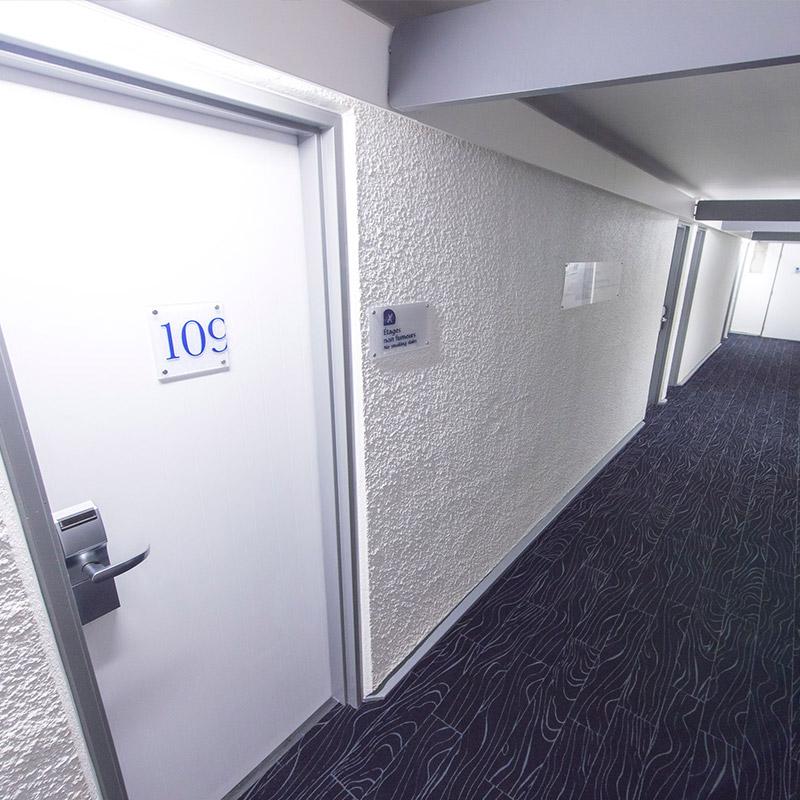 Pose de moquette hôtel Lyon - Hestia Finitions