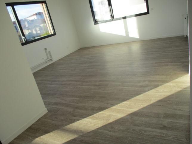 Salle de Séjour - Greyzieu-la-Varenne- Pose de sol PVC