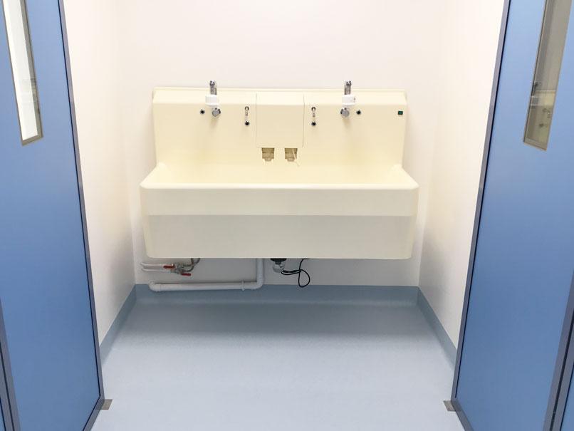 sol souple PVC - Hôpital Privé d'Ambérieu - Hestia Finitions