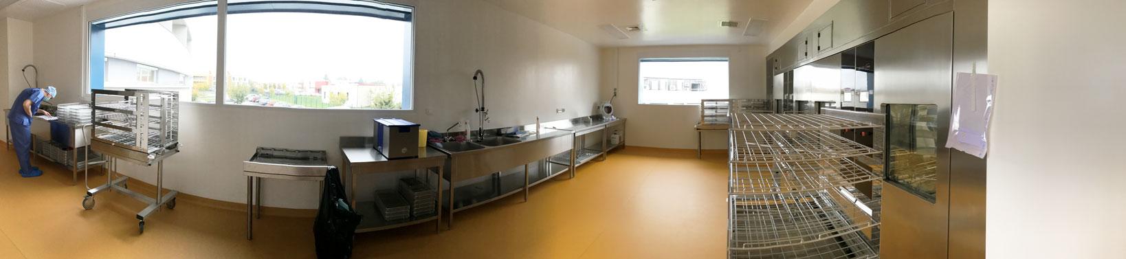 Sol souple PVC Polyclinique-Val-de-Saône - Hestia Finitions